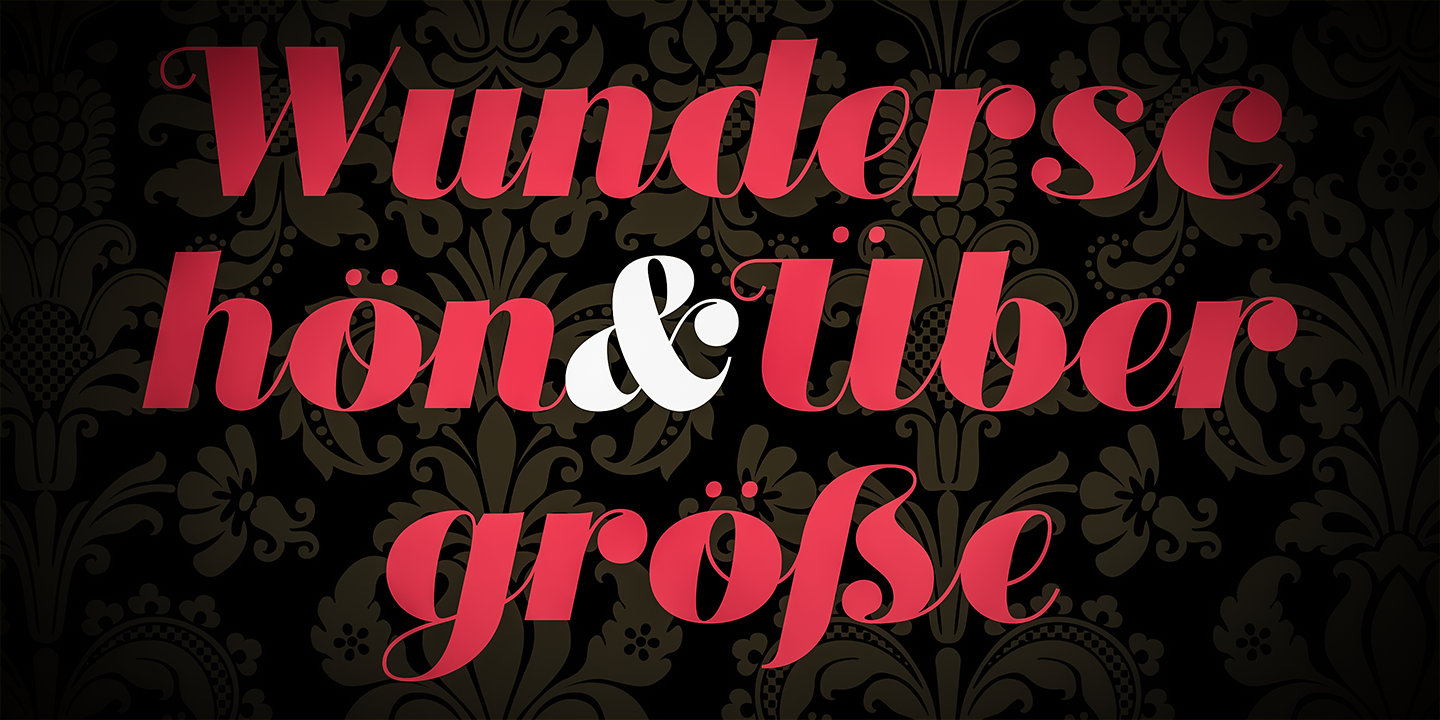 Didonesque Ghost - An Extreme Contrast Typeface